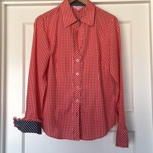 Lily Pulitzer women's button down shirt size 10
